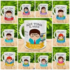 Mugs personalizados, mug de 11 onzas con fotos mensajes publicidad
