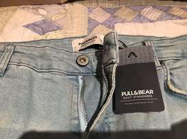 Jean Pull And Bear 34 Skinny Fit