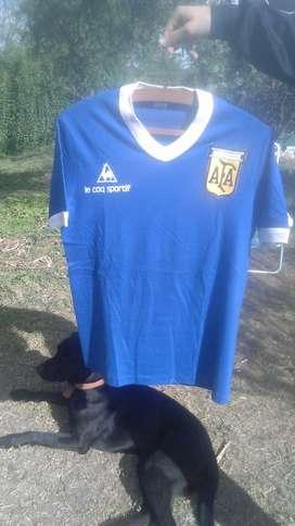 Camiseta Utilería Selección Argentina 1982