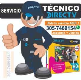 SERVICIO TÉCNICO,  ASESORÍA Y VENTAS DIRECTV