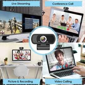 CAMARA WEB HD 1080 P con microfono incorporado y adaptacion a tripode