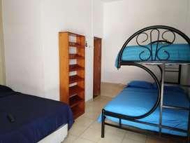Alquiler de habitaciones con aire acondicionado y bao privado