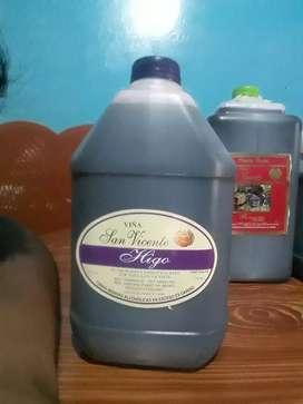 Vinos de ica de higo y de birgoña a 35 soles solo mr kedan 6 de cada uno precio de ocacion