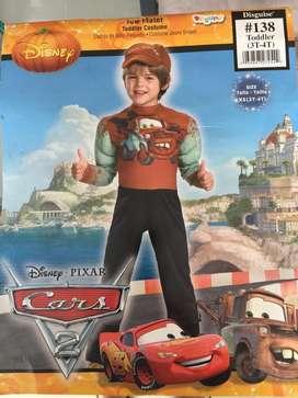 disfraz CARS 2 Disney