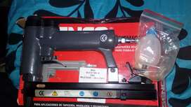 Pistola neumatica para tapiceria