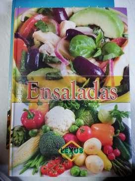 Libro de recetas de ensaladas