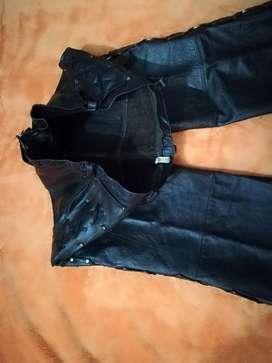 Pantalon en Cuero