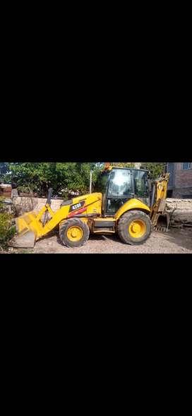 Se vende retro excavadora 420f del año 20014