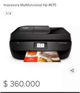 Impresora hp 4675