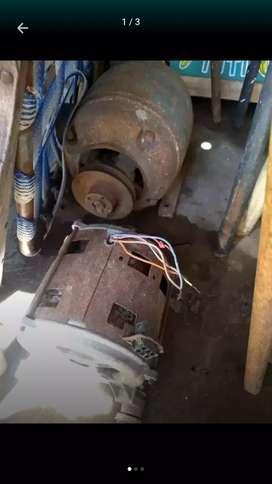 Vendo motor de hormigonera trifásico y motor de lavarropas