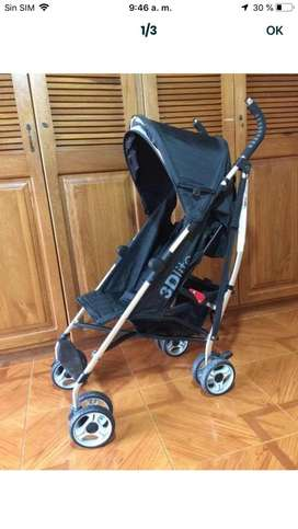 Stroller, coche carreola bebe summer 3D lite carreola