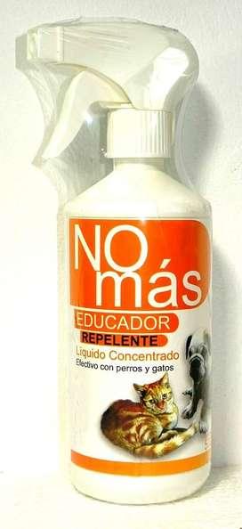 Educador Repelente para Perros y Gatos No Mas, frasco 500 ml