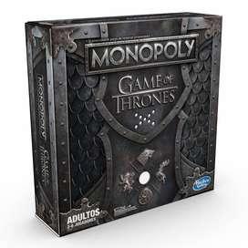 NUEVO!! Monopolio Monopoly Game of Thrones Juego de Tronos (en español)