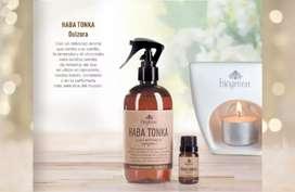 Aromatizante de ambiente y para hornillo Haba Tonka Biogreen.