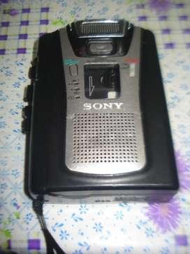 Grabador De Periodista Sony Tcm 465v Profesional A Reparar