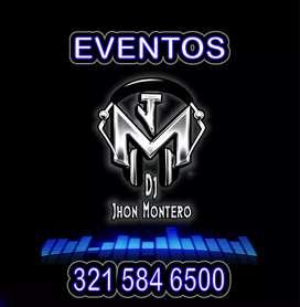 Dj Jhon Montero luces y sonido