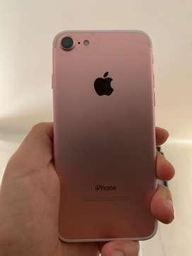 Iphone 7 32gb rosado