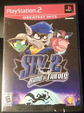 PS2 Sly-2 Band of Thieves