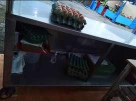 Mesa para picar pollo