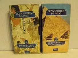 9 Lotes x 2 Vhs Grandes Culturas Del Mundo Colección Folio