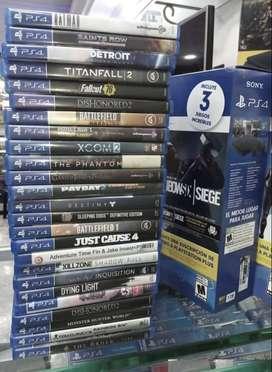Juegos PS4 Usados al mejor precio!