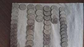 Monedas antiguas de sucres  1sucres,50sucres,10sucres,20 sucres y modenas diferente otro pais