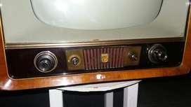 Televisor Philips Antiguo Reliquia