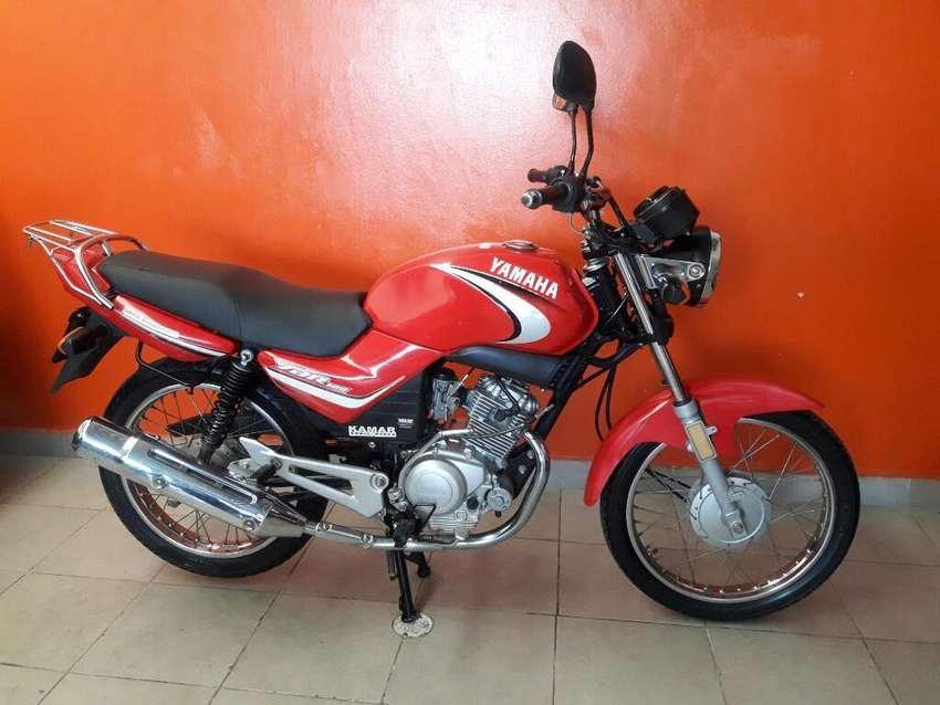 Impecable Yamaha Ybr 125 Recibo Motos 0