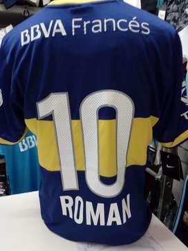 Camiseta boca 2012 roman bbva s L xl