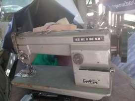 Maquina industrial doble arrastre marca SEIKO