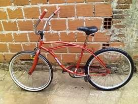Hermosa bicicleta playera 10mil exelente condiciones