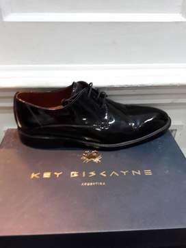Zapatos key Biscayne charol