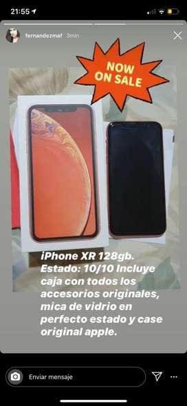 Venta de iphone XR, 128gb