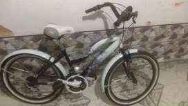 Bicicleta playera rin 24