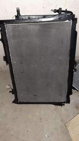radiador e intercooler dimax 2015 3.0