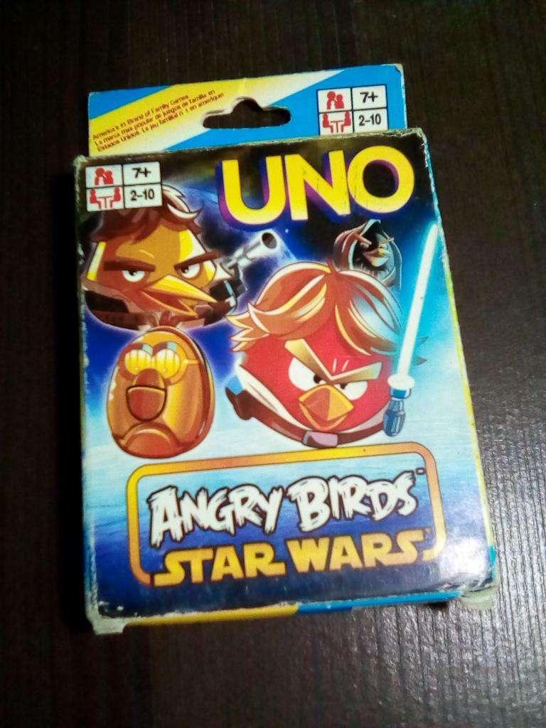 Uno Juego de Cartas Angry Birds