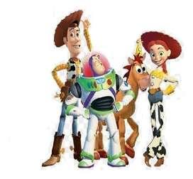Toy Story Set De Juguetes 4 Figuras Toy Story 17 Cm