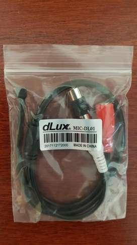 Microfono Dlux Micdl01 Nuevo