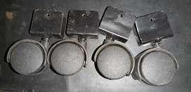 Ruedas Plástica dual 40mm
