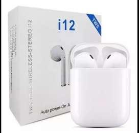 Audífonos airpods touch i12 tws económicos