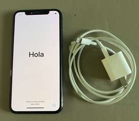 iPhone X 256 GB Black. Batería 86%