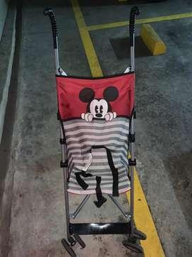 Coche paragua Mickey