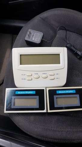 Consola 2 Visores Cabinas Telefonicas
