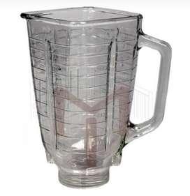 Vaso Cuadrado De Vidrio Para Licuadora Oster Original