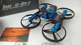 drones para niños para interiores HHD H6 Motorcycle Drone 2 en 1