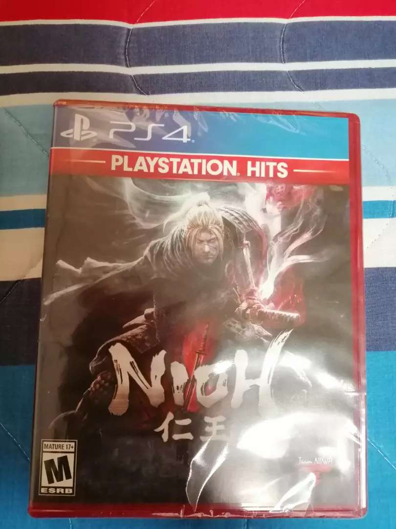 Nioh videojuego PS4 0