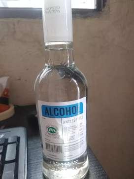 Vendo alcohol antiséptico