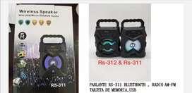 Parlante RS-311 nuevo en caja