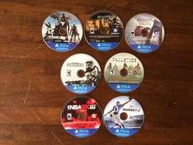 Juegos PS4 precios en la descripción