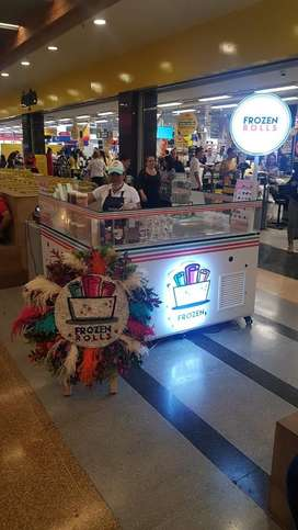 Vendo Franquicia Frozen Rolls en el cc Viva Laureles